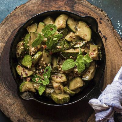 Zucchine in agropiccante