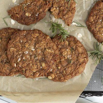 Biscotti avena e rosmarino