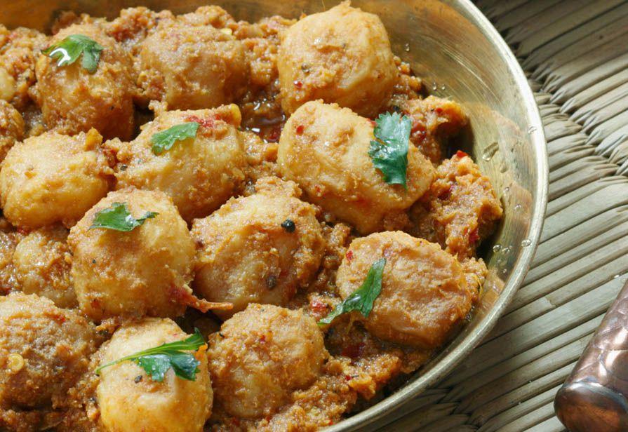 Patate in umido al curry
