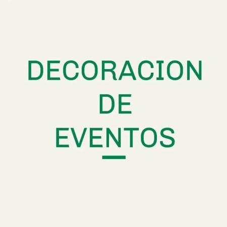 Decoración de Eventos