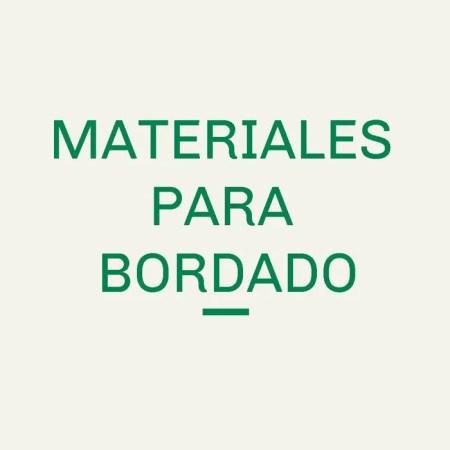 Materiales para Bordado