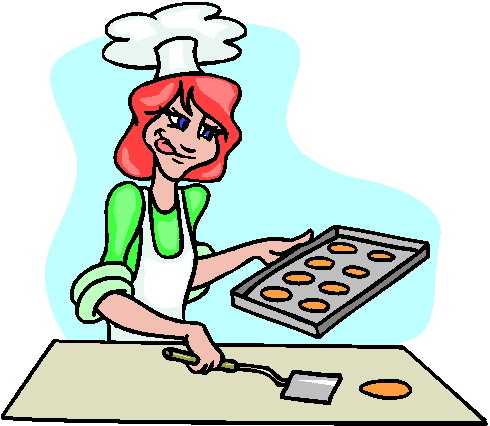 clip art - baking 888488