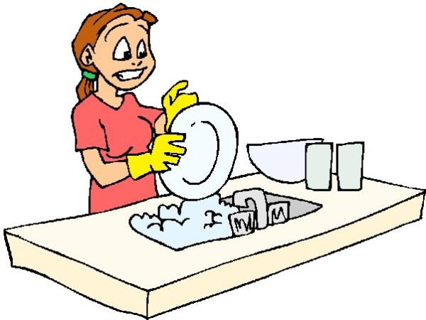 clip art - washing