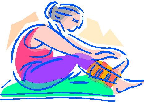 round yogini in loose forward fold