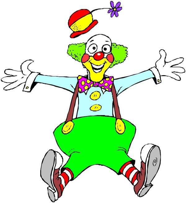 clip art - clowns 217799