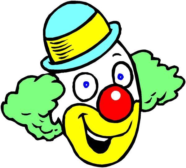 clip art - clowns 654528