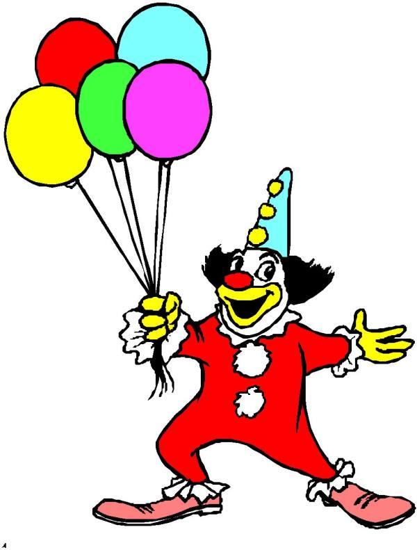 clip art - clowns 920583