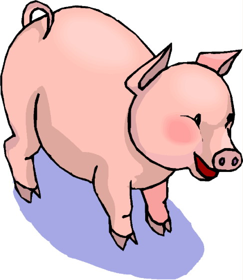 clip art - pigs 662980