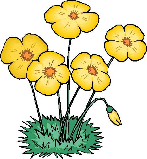 clip art - flowers 921900