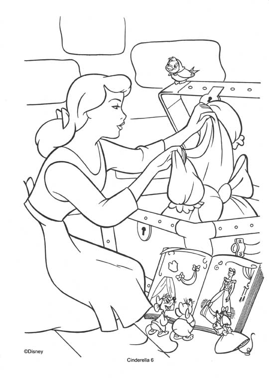 Cinderella Movie 2015 Coloring Pages Coloring Pages