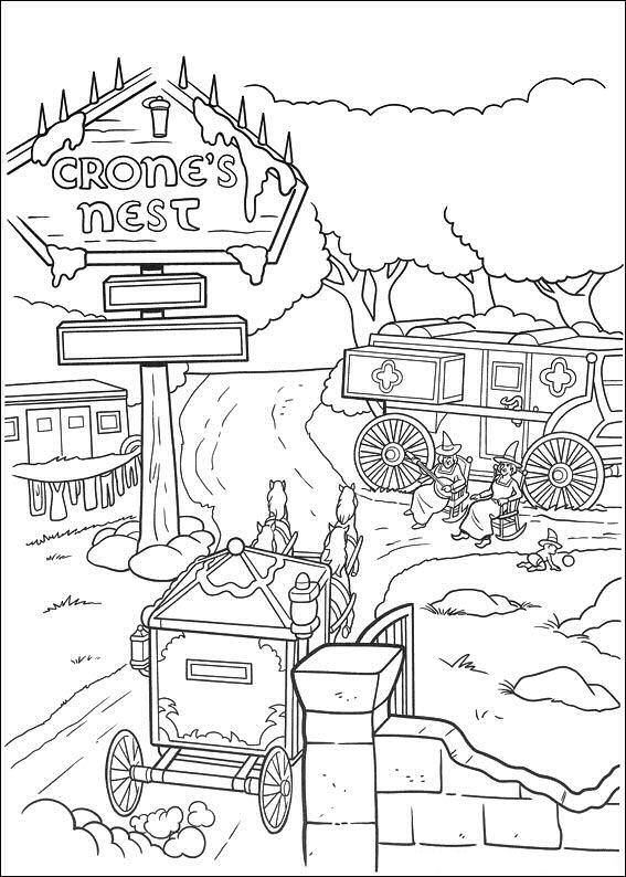 Shrek 4 Coloring Pages