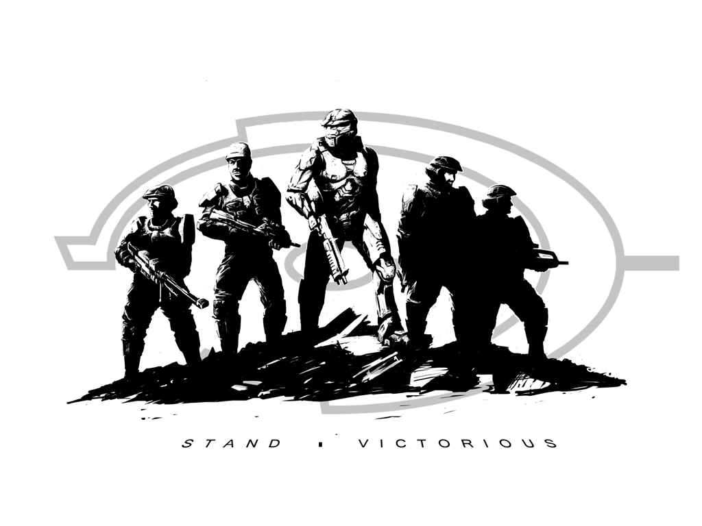 Animaatjes Halo Wallpaper
