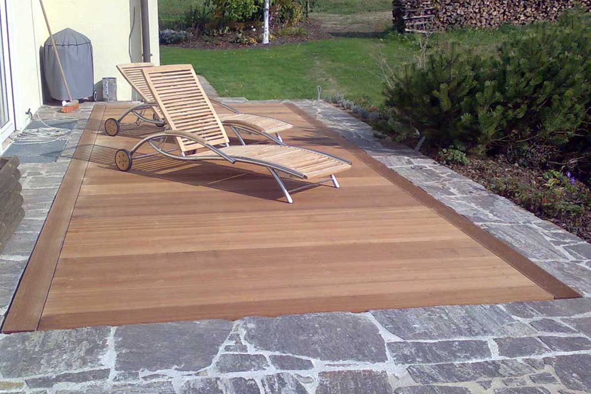 Terrassenbeläge Aus Holz Terrassendielen - Pichler Holzbau : Pichler