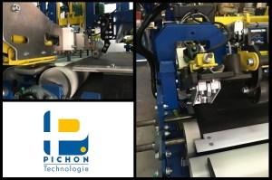 liner armé piscine machine PICHON Technologie