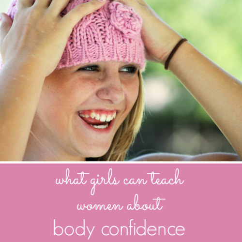 What girls can teach women about body confidence from Pick Any Two