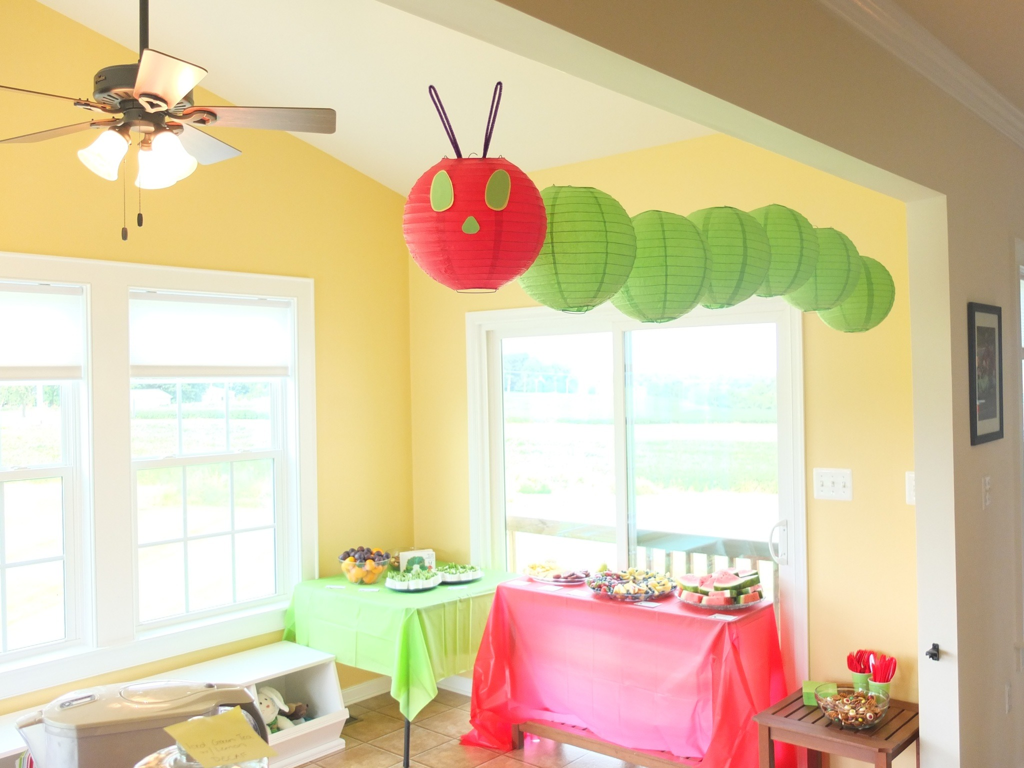 The Very Hungry Caterpillar Birthday Party Pick Any Two