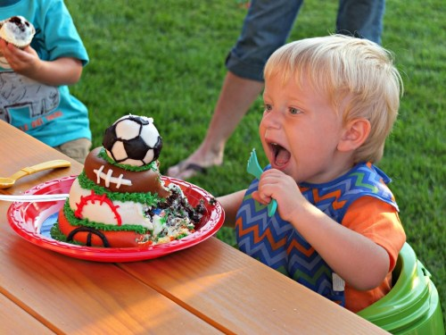 Let's Have a Ball! Ball-Themed Birthday Party from Pick Any Two