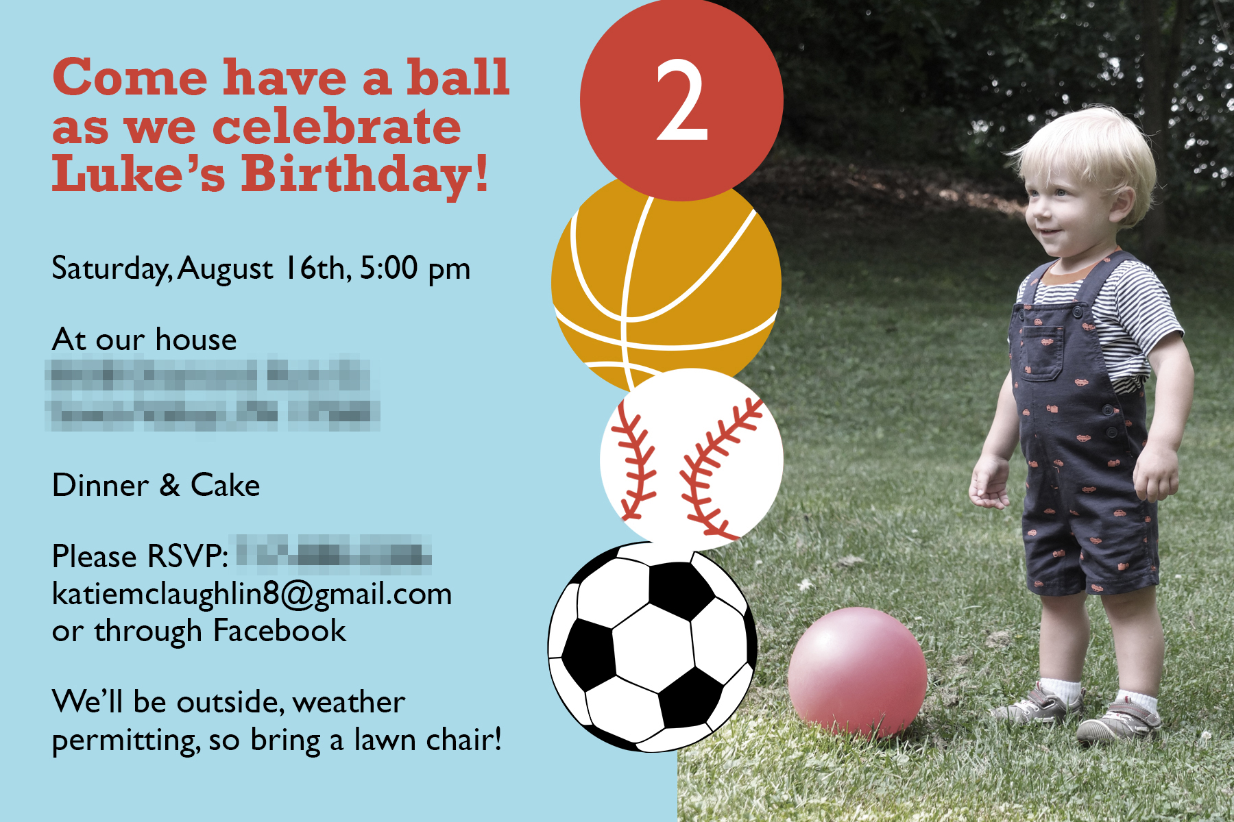 Lets Have a Ball Ball Themed Birthday Party Pick Any Two