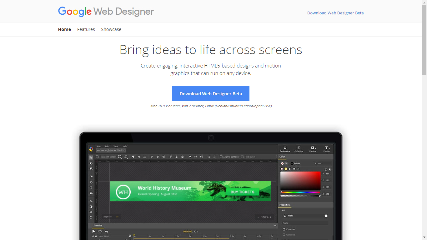 List of The Top Web Design Software 2018