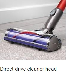Absolute Cord-Free Vacuum floor cleaning