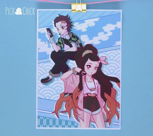 poster kimetsu no yaiba