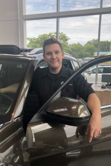 Shane Verwey - Parts Manager
