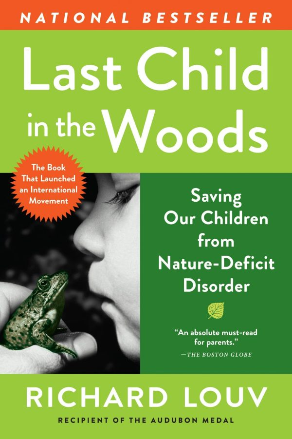 How to outline a nonfiction book: Cover of Last Child in the Woods by Richard Louv