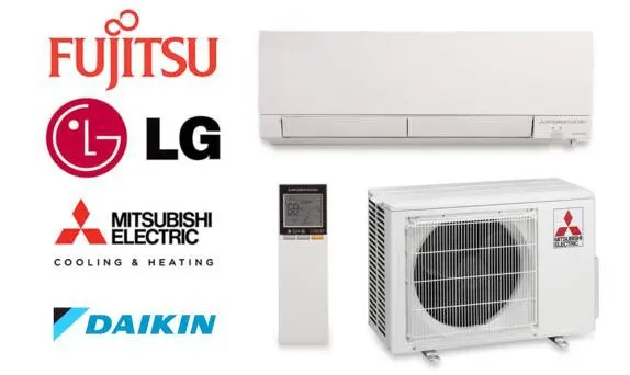 daikin vs fujitsu vs mitsubishi vs lg  best minisplit