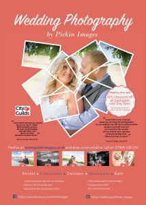 Shot by swindon wedding photographer, pickin images photography Leaflet