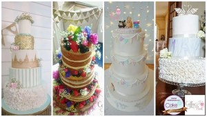 Pictures and beautiful wedding cakes by The Coffee Post Fairford