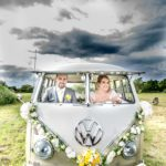 Rusty from Rusty n Roses camper van hire. Wedding car