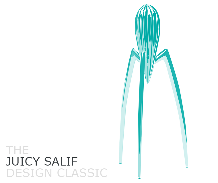 September's Design Classic, the Juicy Salif, designed by Philippe Starck and produced in 1990