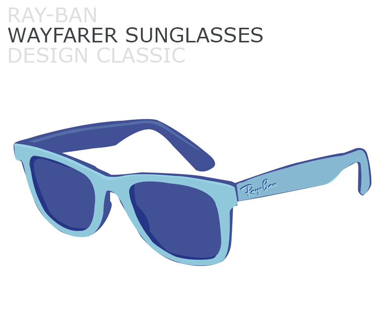 November's design classic, Ray-Ban Wayfarer Sunglasses