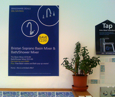 Wadebridge Bathroom Studio Poster