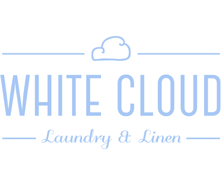 White Cloud Laundry and Linen Logo
