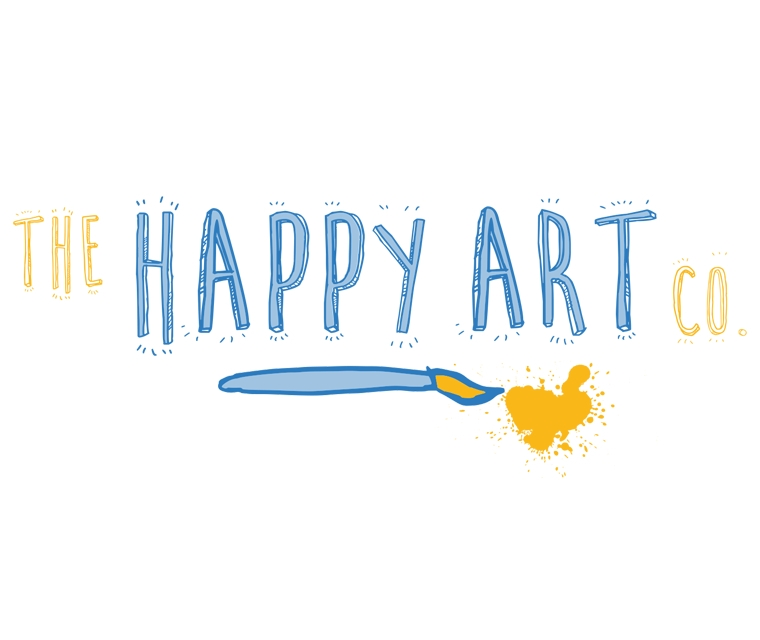 Logo design for The Happy Art Company