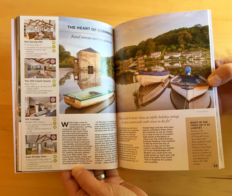 Cornish Horizons magazine Fowey