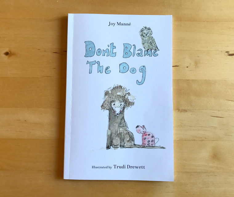 Don't blame the dog chapter book cover