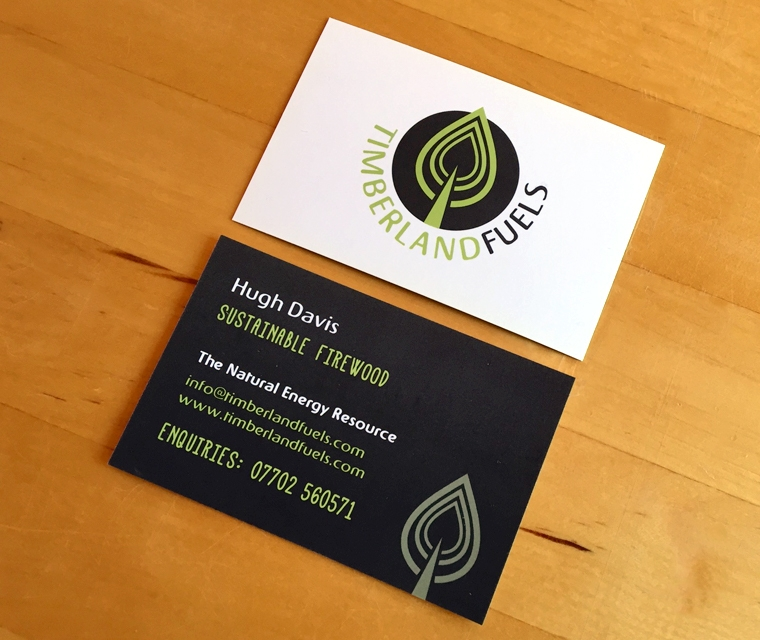 Timberland Fuels business card