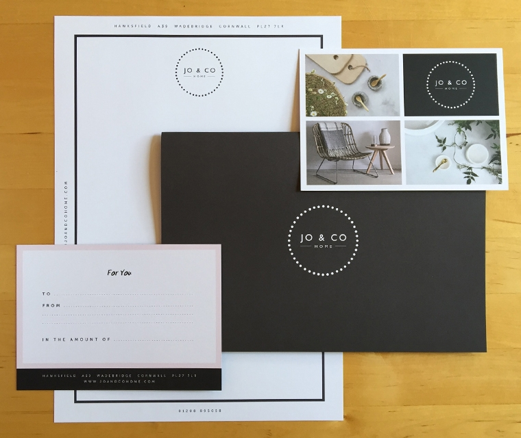 Jo & Co stationery by Pickle Design