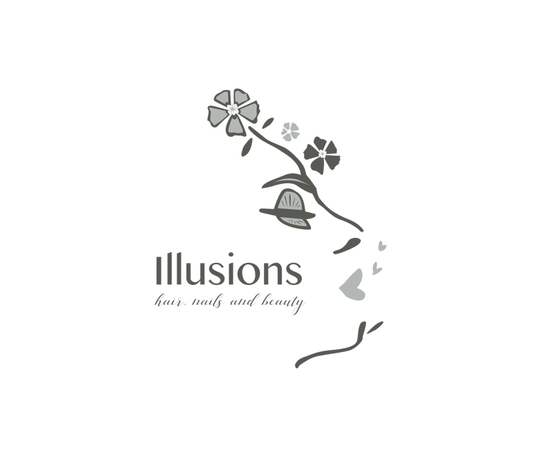 Illusions illustrated logo