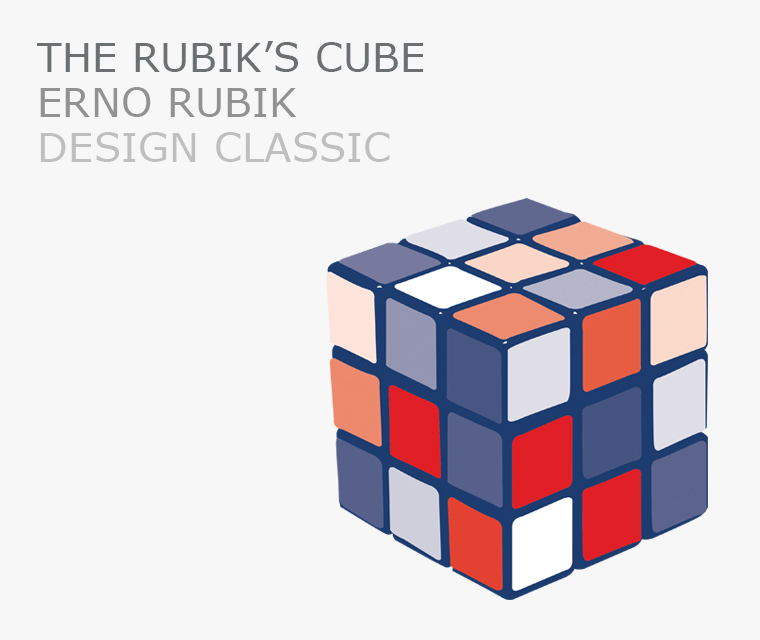 Rubik's cube this month's design classic