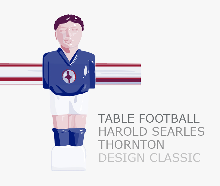 our September newsletter featuring table football as our design classic