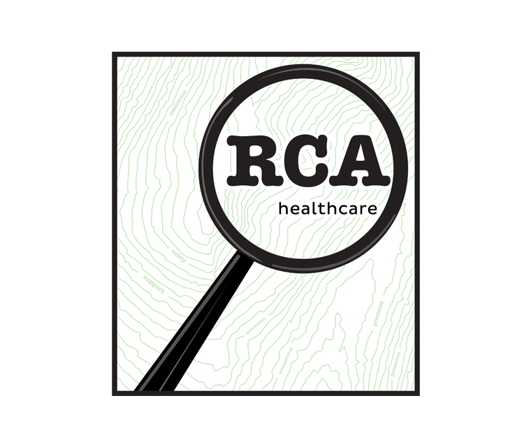 Logo design for RCA Health Care