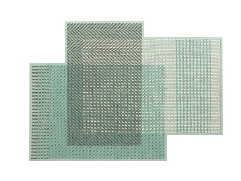 Woven rug by Charlotte Lancelot