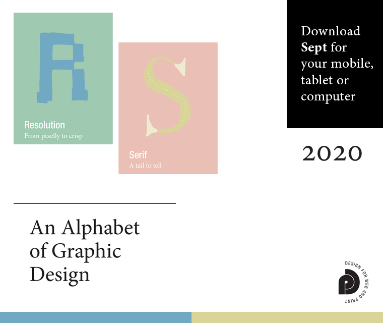 Letters R and S from our Alphabet of graphic design