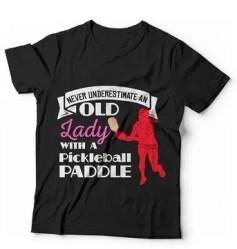 Womens pickleball t-shirt
