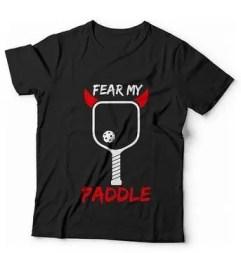 Pickleball T-shirt pickleball paddle design