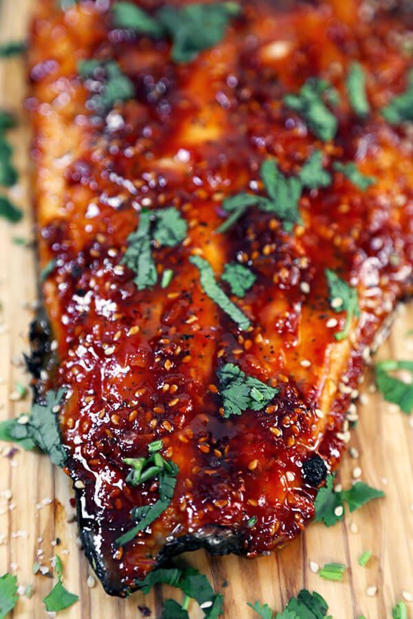 Spicy Baked Salmon Recipes Food Fish Recipes
