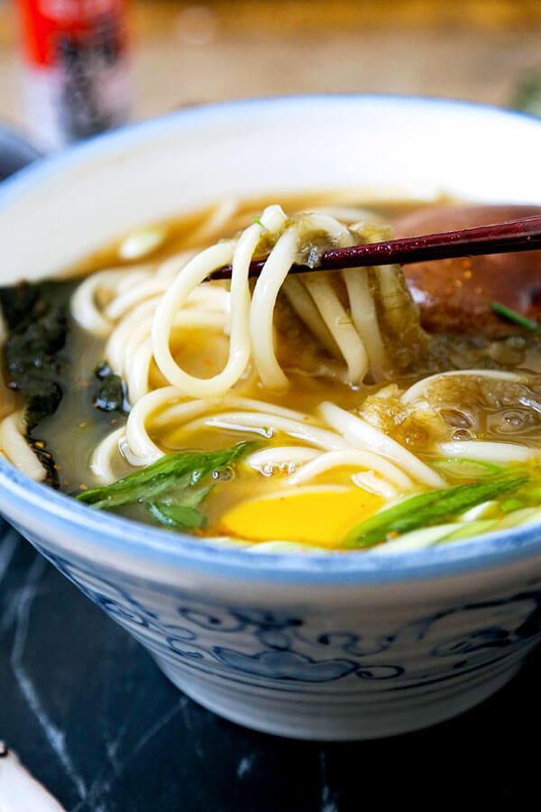 Light Udon Noodle Soup  Pickled Plum Food And Drinks